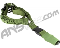 Aim Sports One Point Bungee Rifle Sling - Green (AOPS01G)
