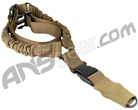 Aim Sports One Point Bungee Rifle Sling - Tan (AOPS01T)