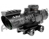 Aim Sports Recon Series 4X32mm Rifle Scope w/ Rapid Ranging Reticle (JTDSR432G)