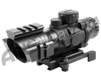 Aim Sports Recon Series 4X32mm Rifle Scope w/ Rapid Ranging Reticle (JTDTR432G)