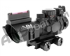 Aim Sports Prismatic Series 4X32mm Rifle Scope w/ 3/4 Circle Reticle (JTHFO432G)