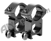 "Aim Sports 1"" Rings w/ Weaver Base (QW10T)"