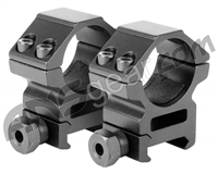 "Aim Sports 1"" Weaver Rings - Medium (QW10TM)"