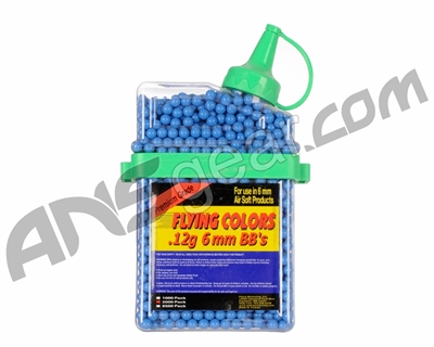 2,000-ct. Flying Colors .12g Airsoft BB's - Blue