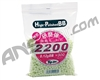 Toy Tech 2,200 Seamless Polished .12g Airsoft BB's - Light Yellow