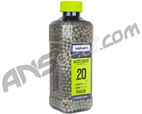 Valken Accelerate .20g Airsoft BB's - 2500 - Tracer (93337)
