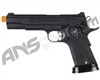 King Arms Predator Tactical 1911 Gas Blowback Airsoft Pistol - Black