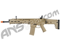 KWA PTS Masada Gas Blow Back Airsoft Rifle - Dark Earth