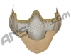 3G Strike Steel Airsoft Mask w/ Ear Protectors - Tan