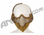2G Striker Airsoft Mask - Tan