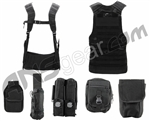 Angel Fat Boy Molle Vest w/ Attachemnts - Black