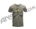 Angel Wrestler Men's T-Shirt - Olive