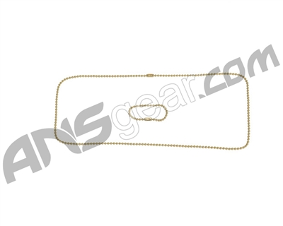 Dog Tag Chains - Brass