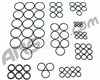ANS Complete O-Ring Kit 3x Rebuild (Bag) - Etek 3
