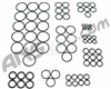 ANS Complete O-Ring Kit 3x Rebuild (Bag) - Marq Series
