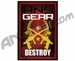 ANSGEAR Destroy Sticker