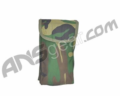 Atlanco Survival Pouch - Woodland Camo