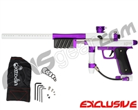 Azodin KP3 Kaos Pump Paintball Gun - White/Electric Purple