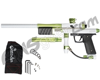 Azodin KP3 Kaos Pump Paintball Gun - White/Polished Green