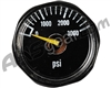 Blackout Pressure Gauge - 3000 PSI