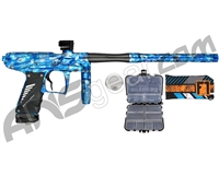 Bob Long Insight NG w/ Victus Body & Reflex Engine Paintball Gun - Blue Nova