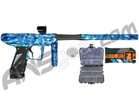 Bob Long Onslaught Paintball Gun w/ Reflex Engine - Blue Nova
