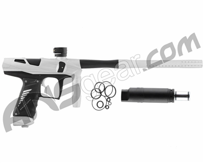 Bob Long Victory V-COM Paintball Gun - Dust White/Dust Black