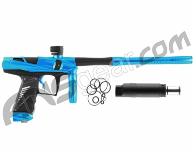Bob Long Victory V-COM Paintball Gun - Teal/Dust Black