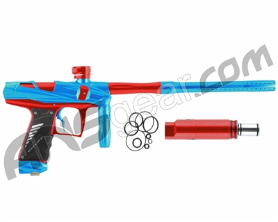 Bob Long Victory V-COM Paintball Gun - Teal/Red