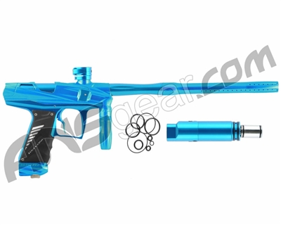 Bob Long Victory V-COM Paintball Gun - Teal/Teal
