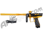 Bob Long 2011 Victory V2 T-Rex Paintball Gun - Polished Black / Polished Gold