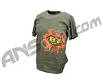 BT Paintball 2011 Join The Ranks Men's T-Shirt - Olive