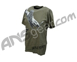 BT Paintball 2011 Warhawk Men's T-Shirt - Olive