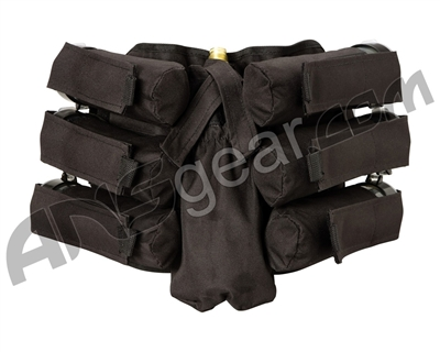 BT Bandolier 6+1 Paintball Harness - Black
