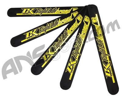 Contract Killer Slap Wristband - Black/Yellow