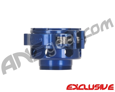 Custom Products CP Angel 1 No-Rise Clamping Feed Neck - Blue
