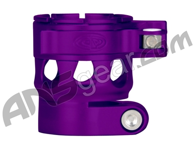 Custom Products CP Ego 07/08/09/10/11 Clamping Feed Neck - Dust Purple