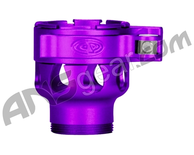 Custom Products CP Spyder VS1, VS2, VS3, RS, & RSX Clamping Feed Neck - Dust Purple