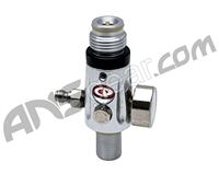 CP Compressed Air Tank Regulator - 4500 PSI - Dust Silver