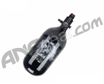 Crossfire SS Carbon Fiber Compressed Air Tank 45/4500 w/ Ninja Ultralite Regulator - Skull Label