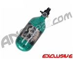 Crossfire SS Graffiti Series Carbon Fiber Compressed Air Tank 45/4500 - Candy Apple