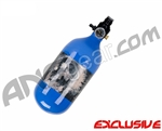 Crossfire SS Graffiti Series Carbon Fiber Compressed Air Tank 45/4500 - Royal Blue