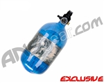 Crossfire SS Graffiti Series Carbon Fiber Compressed Air Tank 68/4500 - Candy Blue