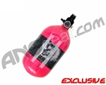 Crossfire SS Graffiti Series Carbon Fiber Compressed Air Tank 68/4500 - Neon Pink