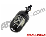 Crossfire SS Graffiti Series Carbon Fiber Compressed Air Tank 68/4500 - Smoked Out