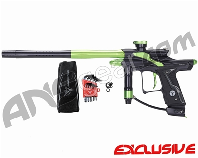 Dangerous Power Fusion FX Paintball Gun - Black/Neon Green