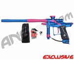 Dangerous Power Fusion FX Paintball Gun - Blue/Pink