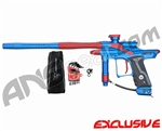 Dangerous Power Fusion FX Paintball Gun - Blue/Red
