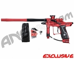 Dangerous Power Fusion FX Paintball Gun - Dust Red/Polished Black