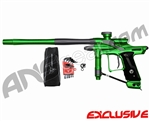 Dangerous Power Fusion FX Paintball Gun - Green/Pewter